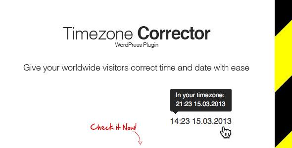 CodeCanyon WP TimeZone Corrector 5133879