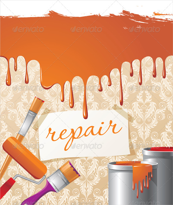 GraphicRiver Repair Background 5147230