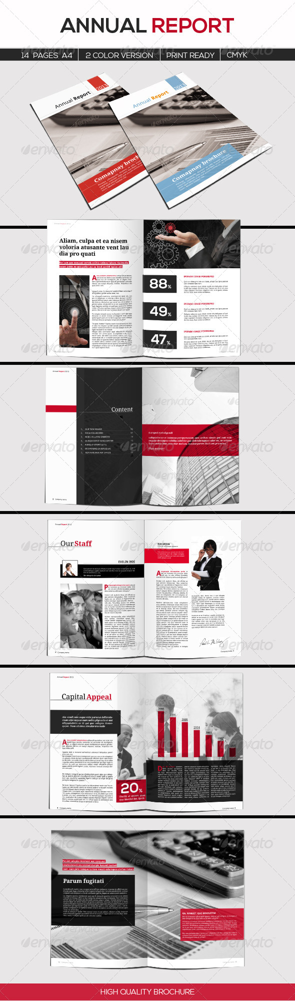 GraphicRiver Annual Report 5147513