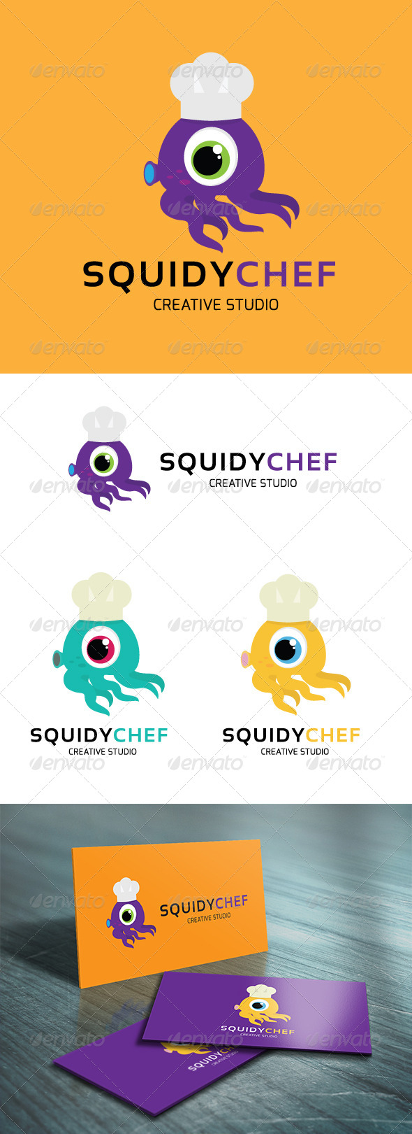 GraphicRiver Squidy Chef 5131987
