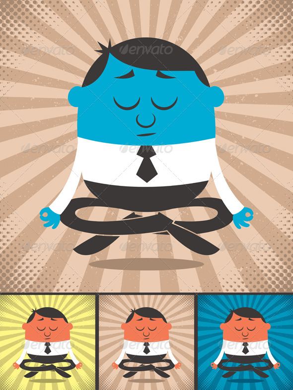 GraphicRiver Meditation 5147755