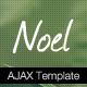 Noel - Onepage AJAX Template