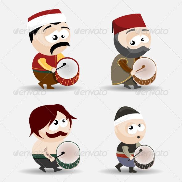 GraphicRiver Ramadan Drummers 5148959