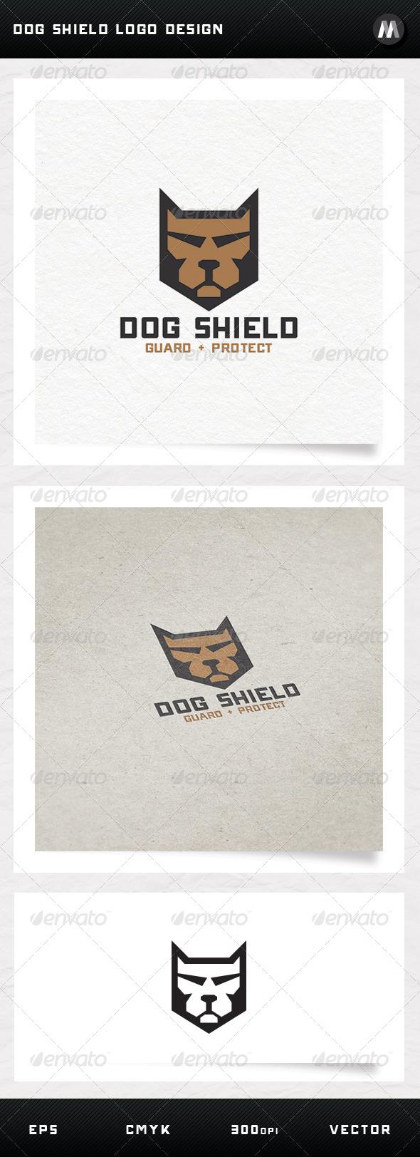 GraphicRiver Dog Shield Logo Design 5129833