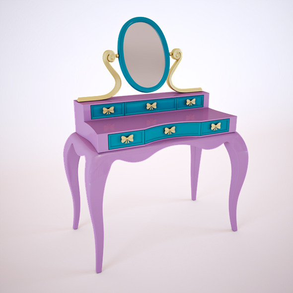 3DOcean Dressing Table 5149189