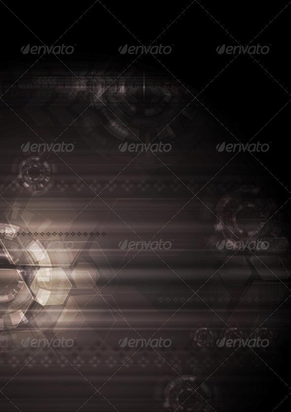 GraphicRiver Dark Modern Hi-Tech Vector 5149293