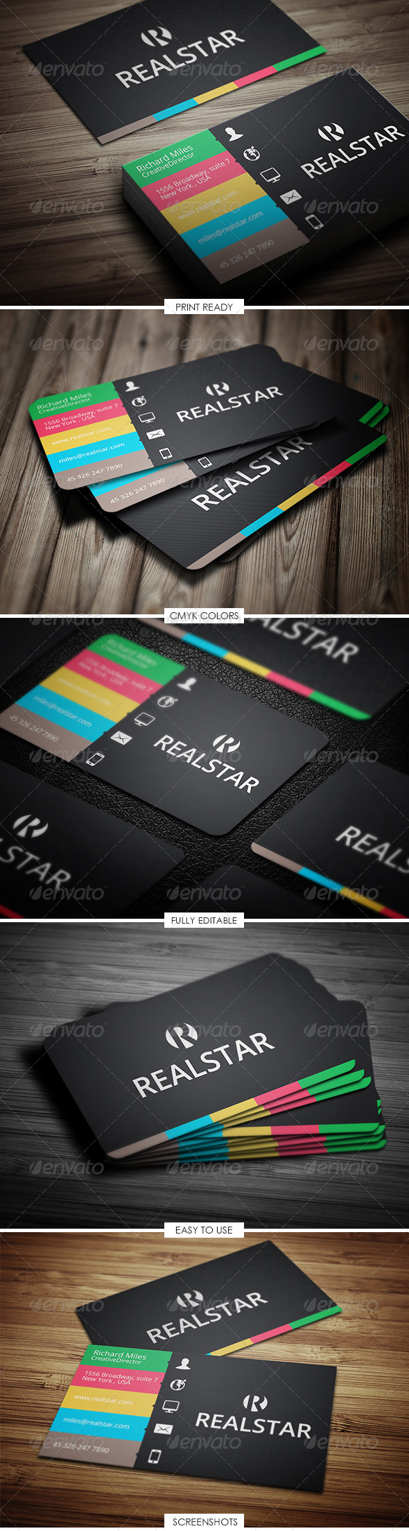 GraphicRiver Corporate & Creative Business Card 5149375