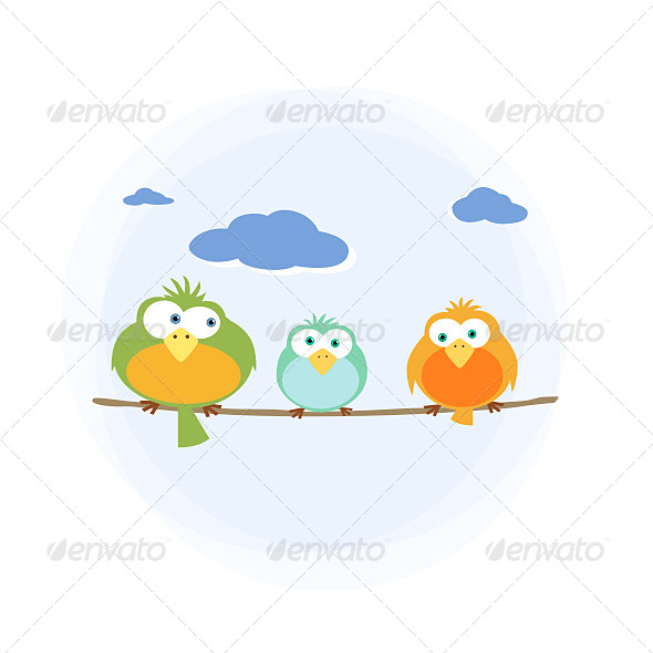 GraphicRiver Three Birds 5149600