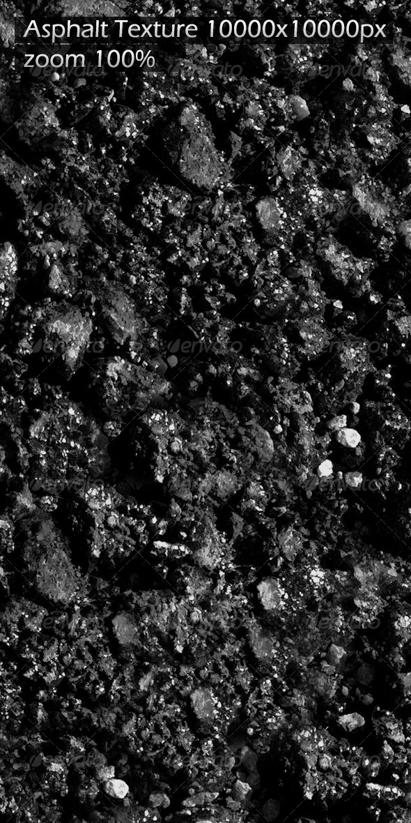 Asphalt Texture - 3DOcean Item for Sale