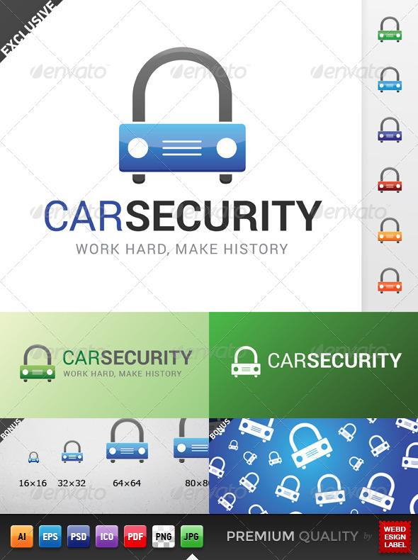 GraphicRiver Car Security Logo 5149973