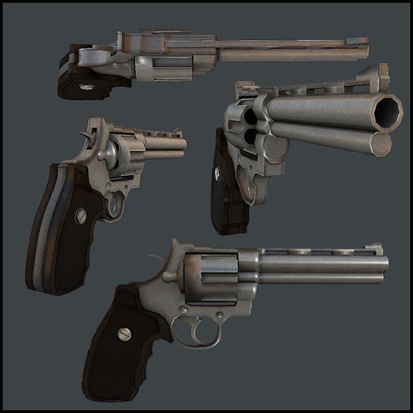 3DOcean Remington 44 Magnum 5149995