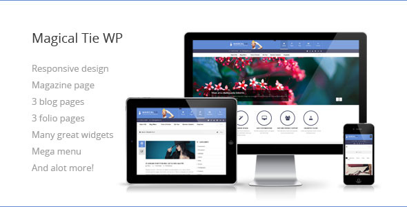 Magical Tie - Multipurpose Responsive WP Theme