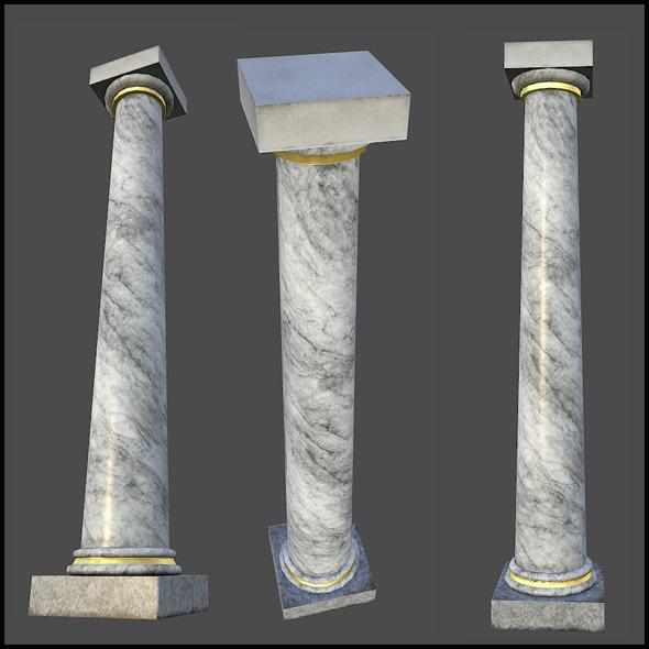 White Metal Pillars : Pillar pack by arx f docean