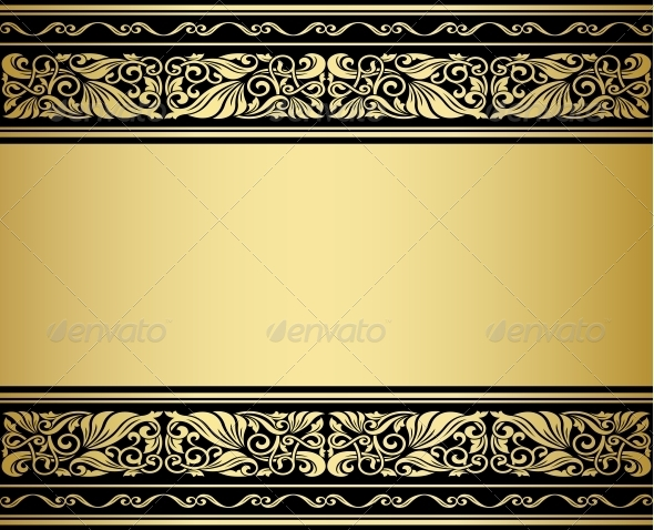 Gilded Ornaments and Patterns - Backgrounds Decorative