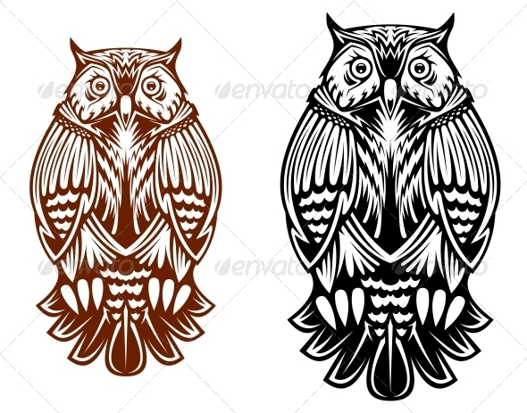 GraphicRiver Owl 5150339