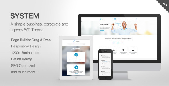 ThemeForest System Responsive Multi-Purpose Theme 5128794
