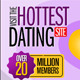 Dating Banner Set - 12 Sizes - GraphicRiver Item for Sale