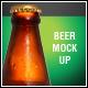 Beer Bottle Mock-Up V4 - GraphicRiver Item for Sale