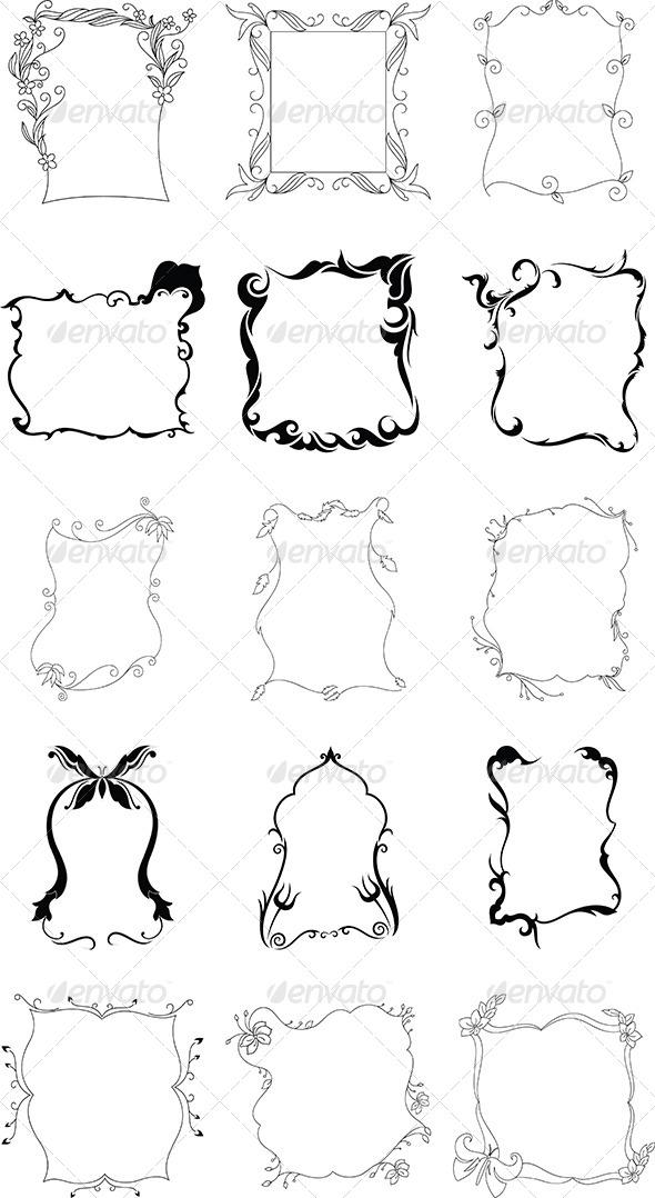 GraphicRiver Frame Design Pack 5143349