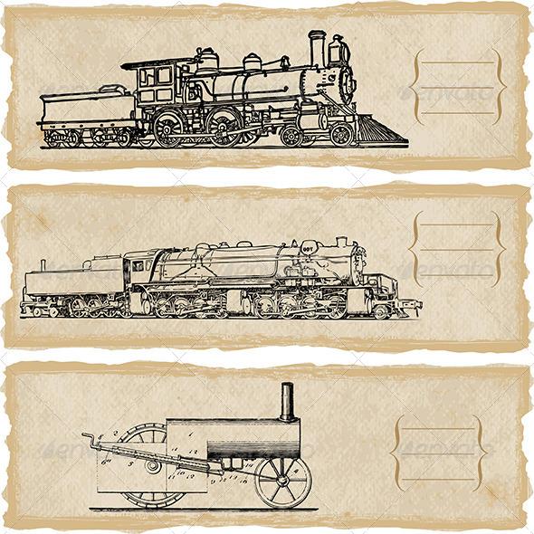 GraphicRiver Locomotive 5150988