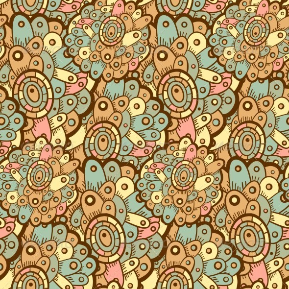 GraphicRiver Ethnic Seamless Pattern Indian 5151142