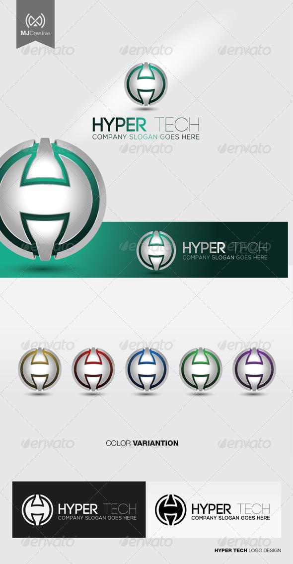 GraphicRiver H Tech Logo 5128319