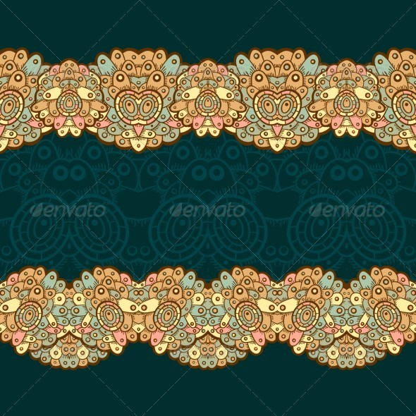 GraphicRiver Ethnic Seamless Pattern Indian 5151166