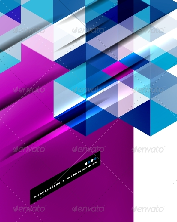 GraphicRiver Abstract straight lines background 5151168