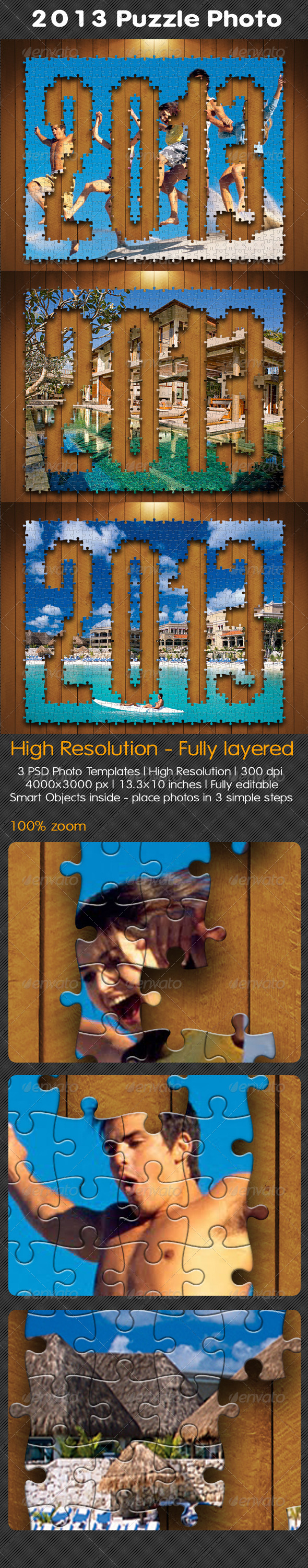 GraphicRiver 2013 Puzzle Photo 5151189