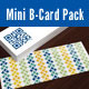 Mini Business Cards Pack - GraphicRiver Item for Sale