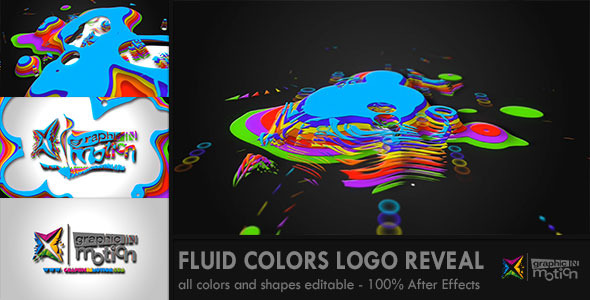 Fluid Colors Logo Reveal