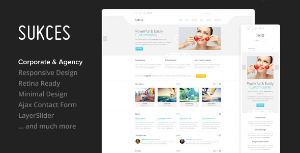 Sukces - Responsive Multi-Purpose HTML Template