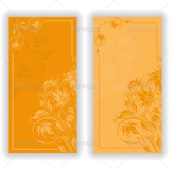 GraphicRiver Vector Template Design for Invitation 5154935