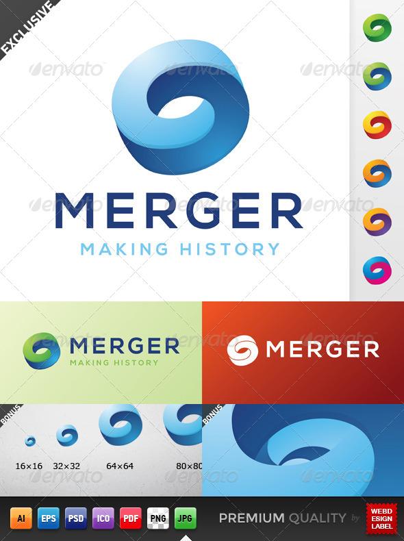 GraphicRiver Merger Logo 5155165