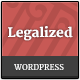 Legalized - Modern Business WordPress Theme  - ThemeForest Item for Sale