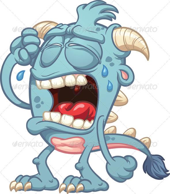 Resultado de imagen de monstruo LLORANDO