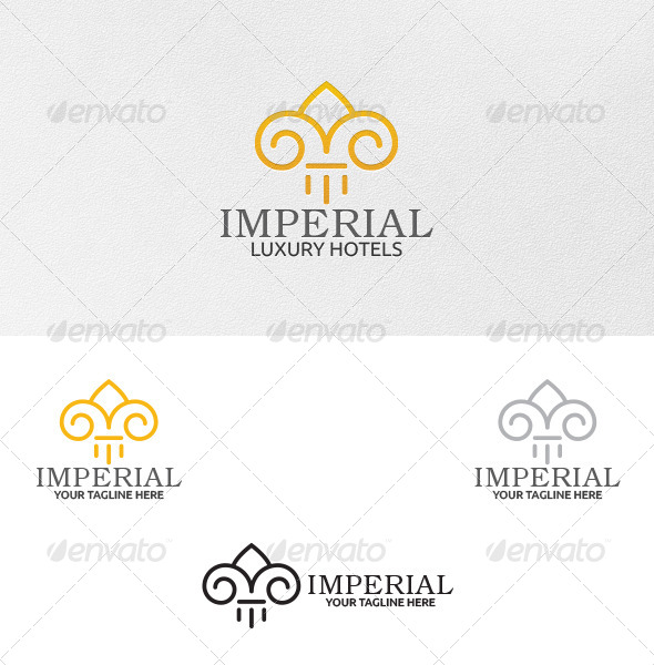 GraphicRiver Imperial Logo Template 5155601