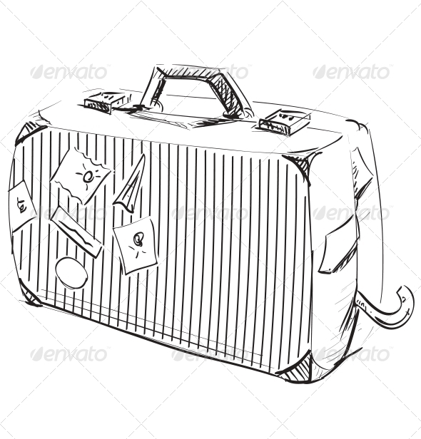 GraphicRiver Journey Suitcase 5155609