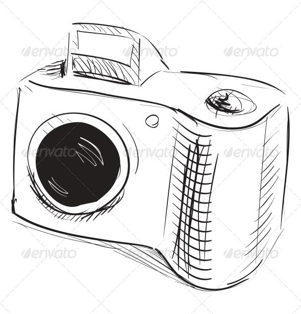 GraphicRiver Photo Camera Icon 5155611