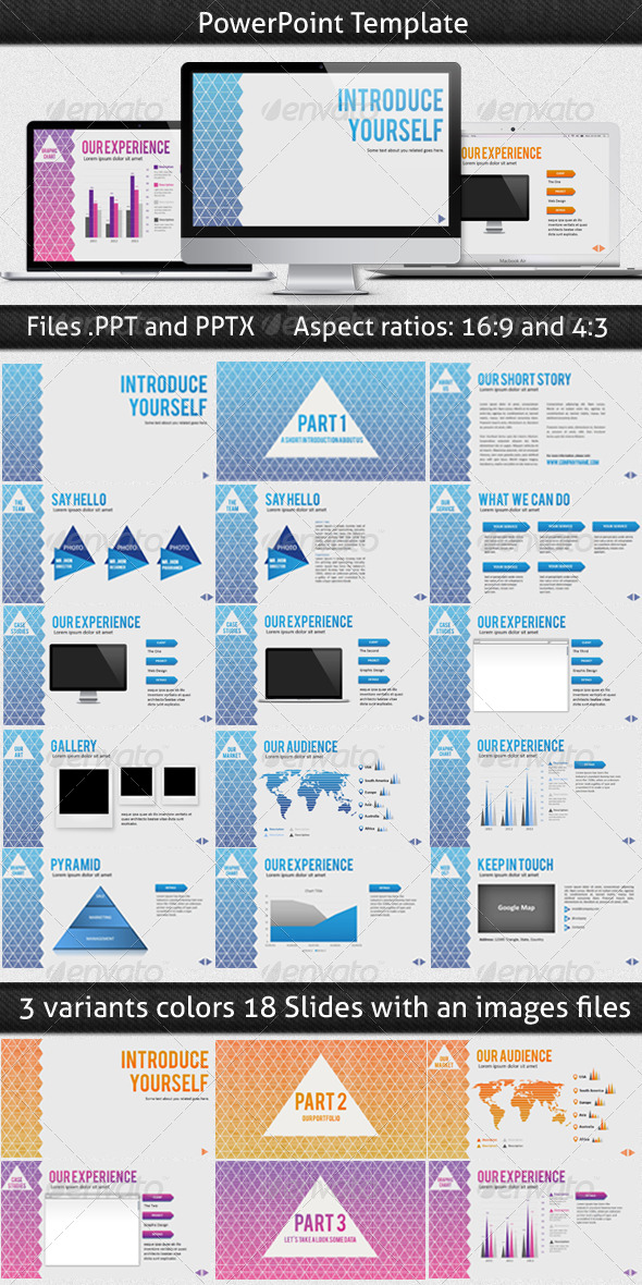 Triangle PowerPoint Template - Presentation Templates