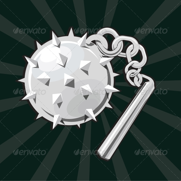 GraphicRiver Flail Icon 5155706