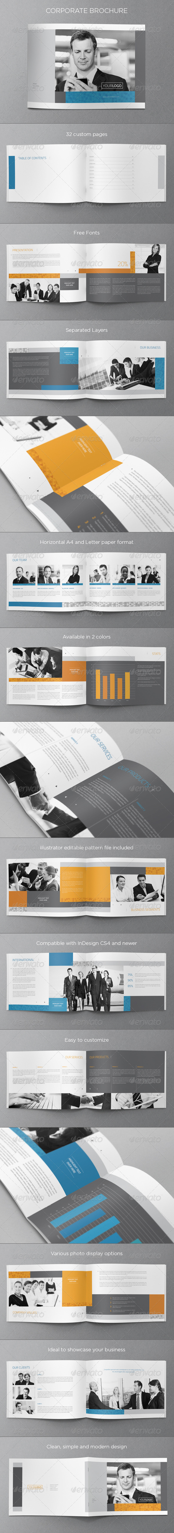 GraphicRiver Corporate Business Brochure 5156413