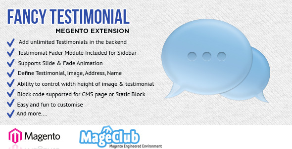 CodeCanyon Fancy Testimonial Magento Extension 5157096