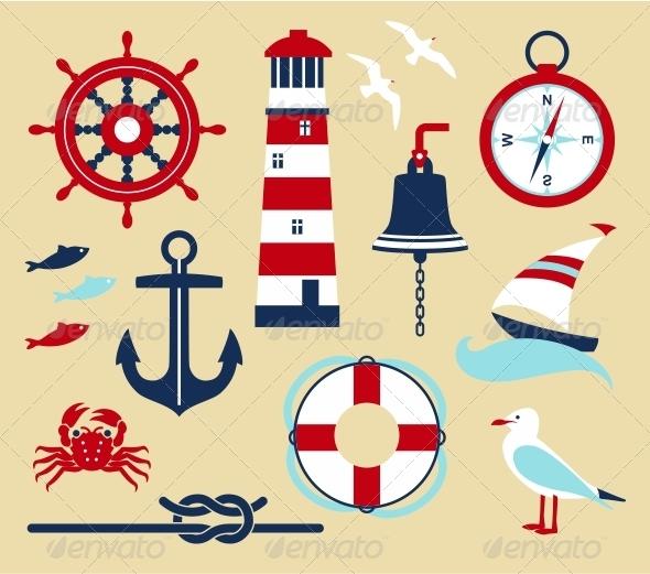 GraphicRiver Sea Set 5157273