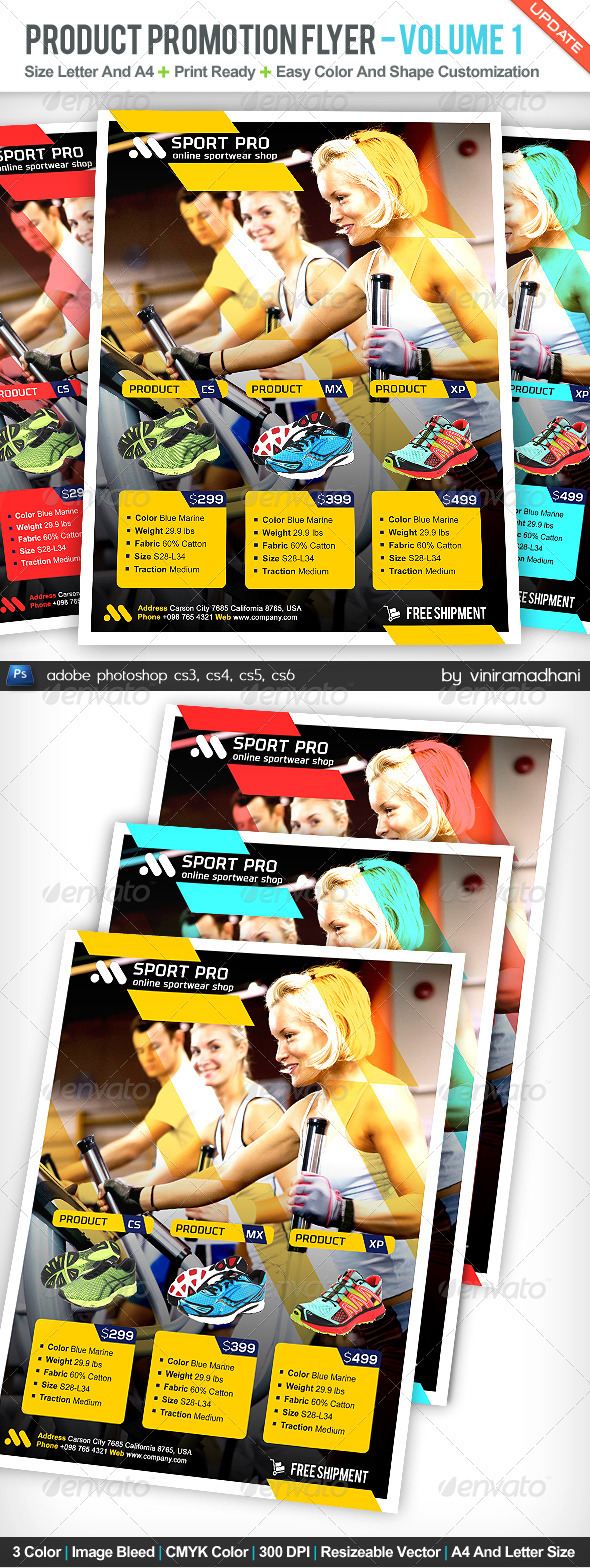 GraphicRiver Product Promotion Flyer Volume 1 5159009