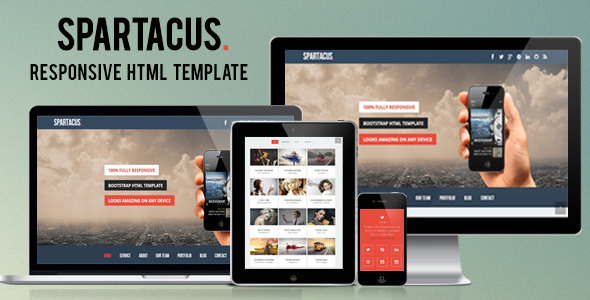 ThemeForest Goblack Multi-Purpose One Page HTML Template 5159062
