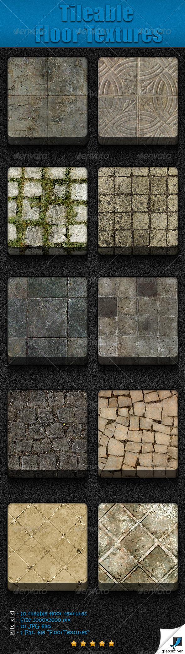 GraphicRiver Tileable Floor Textures 5159120