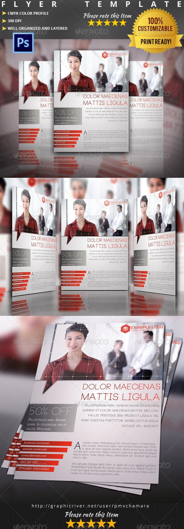 GraphicRiver Multipurpose Flyer Template Vol.8 5159323