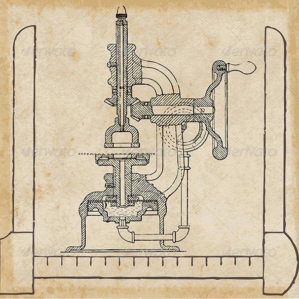 GraphicRiver Paper Testing Machine 5159421