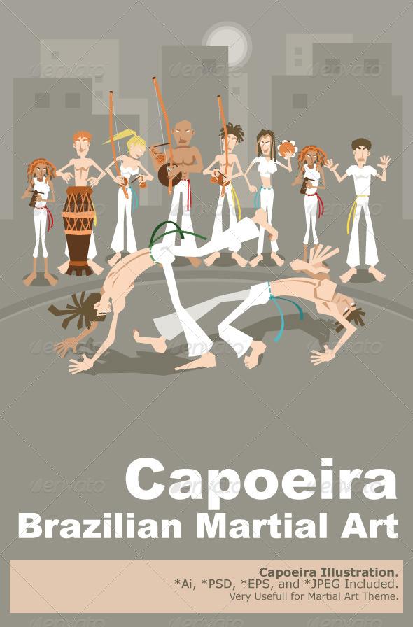 GraphicRiver Brazilian Martial Art Capoeira 5160166